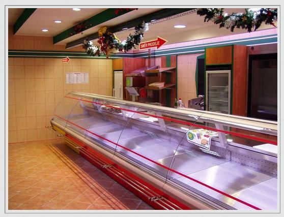 Витрина холодильная Малахит (Чехия)